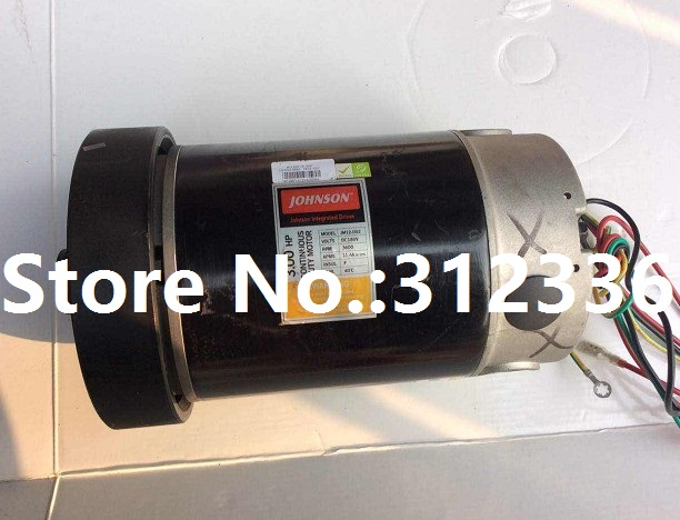 Fast Shipping JM12-007 DC motor for treadmill Johnson T6000 fast shipping jm15 004 1 5hp dc motor for treadmill