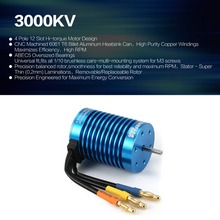 SURPASSHOBBY F540 3000KV 13T 3.175mm Brushless Motor for 1/10 RC Remote Control Car Parts Spare Parts Accessories DIY