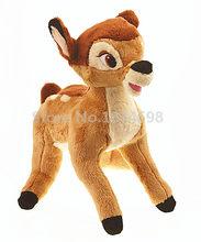25e2d59c760dfd Nieuwe Bambi Herten Knuffel 25 cm Leuke Kids Zachte Knuffels Speelgoed  Poppen Voor Meisjes Jongens Kinderen Geschenken
