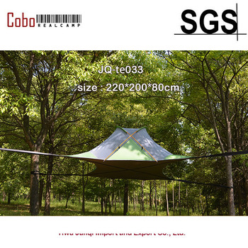 цена на 3 Person Ultralight backpacking hiking hanging Tree House Hammcock Waterproof Four Season Camping Suspended Tree Tent