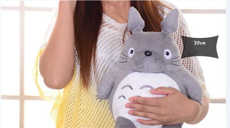 Totoro Plsuh Toys  Soft suffed animal cartoon pillow cushion cute fat cat  chinchillas children birthday Christmas gift 3