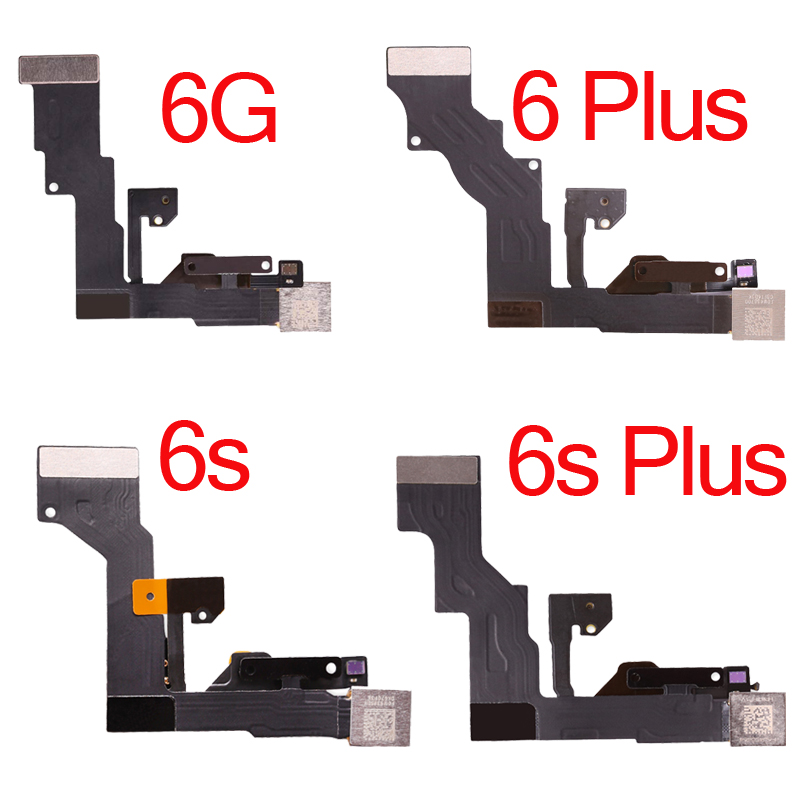 100pcs Front Facetime Camera with Proximity sensor Flex Cable for iPhone 6 6 Plus 6S 6S