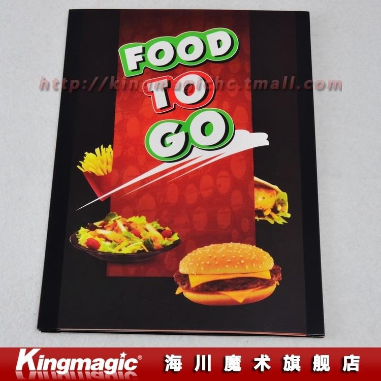 Food to go super hamburg magic props magic tricks in magic for Cuisine 2 go