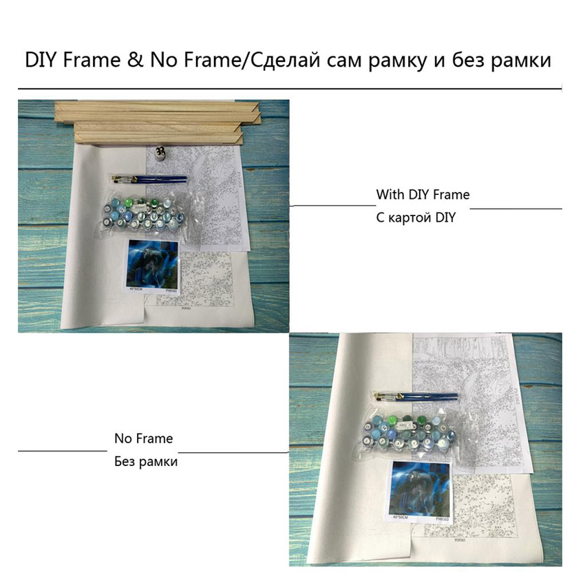 Scenery Painting For Living Room Decoration Balcony Paris Drawing By Numbers Wall Art in Painting Calligraphy from Home Garden