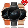 2017 Newest Hot V7 Blood pressure monitor smart Wristband with Bluetooth 4.0 Smart band heart rate monitor Round Touch screen