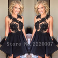 Elegant Appliques Ball Gown Formal Dress Short Homecoming Party  Organza Cheap Cocktail Dress Off the Shoulder Cocktail Dresses
