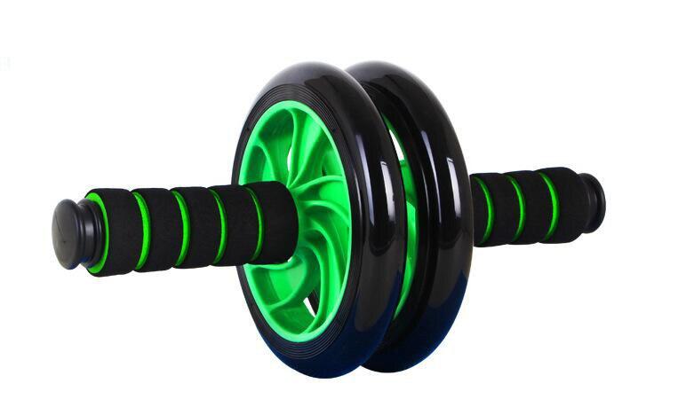 Yüksek Kalite Egzersiz Spor Ekipmanları İçin Mat Ile Karın Tekerlek Ab Rulo Ab Makaralar
