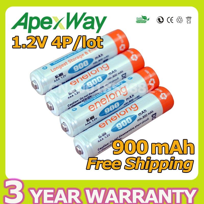 все цены на BPI 4pcs BPI AAA NI-MH 900mAh 1.2V Battery Low Self-discharge batteries High Persistence Rechargeable  battery онлайн