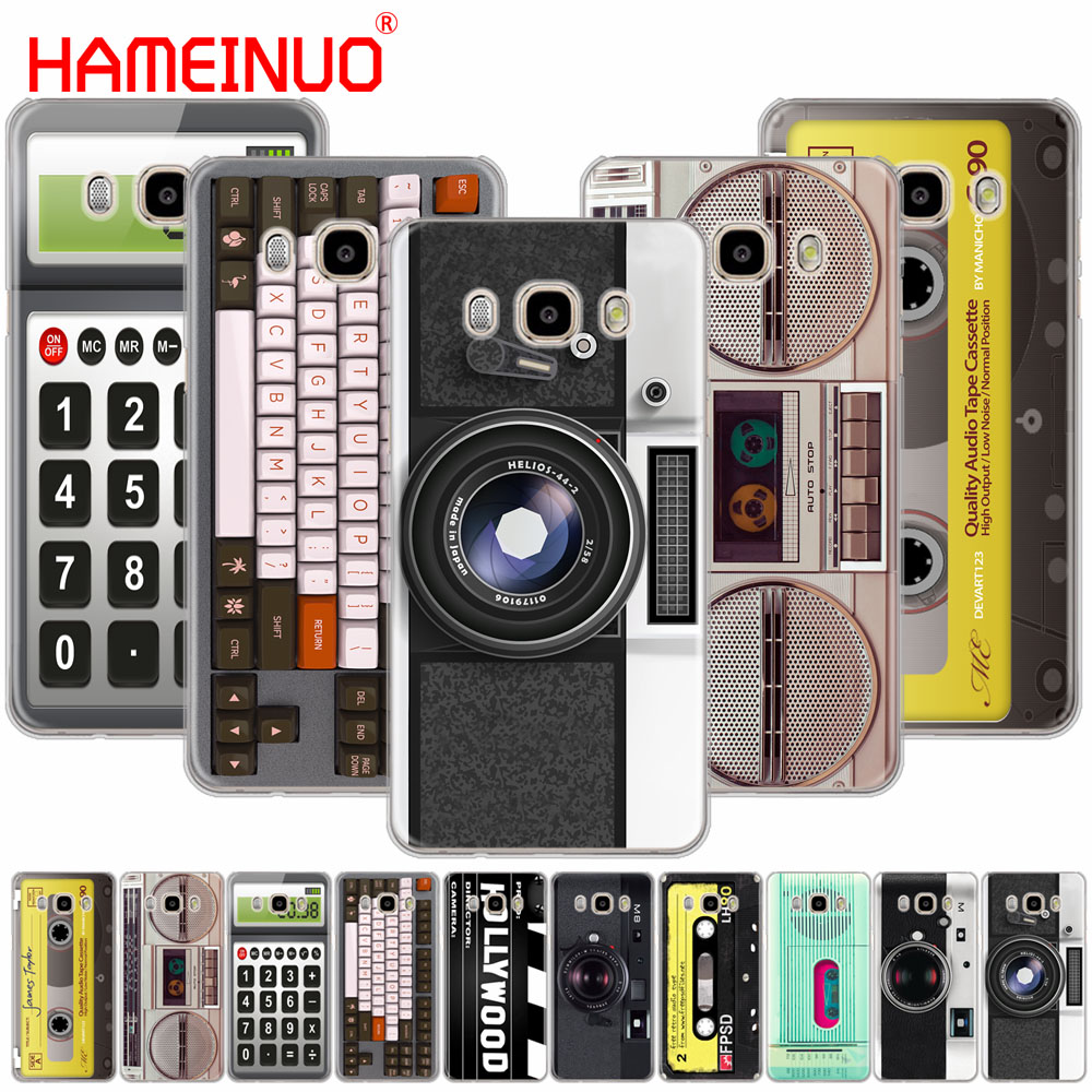 Retro Camera Cassette Boombox Calculator Keyboard cover phone case for Samsung Galaxy J1 ...