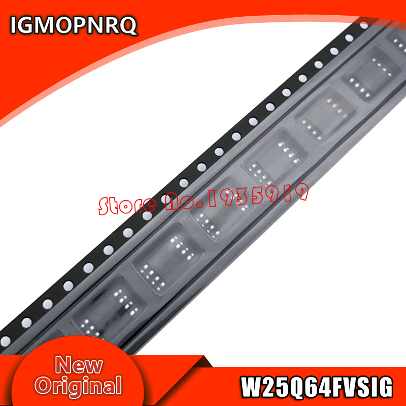 5piece~10piece 100% New 25Q64FVSIG 25Q64FWSIG W25Q64FVSIG W25Q64FWSIG Sop-8 Chipset