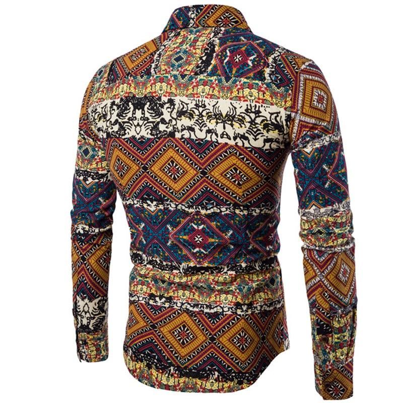 Unpadupe Μάρκα-Ένδυση 2018 Μόδα πουκάμισο - Ανδρικός ρουχισμός - Φωτογραφία 2
