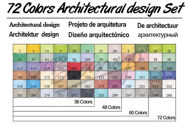 72 Architecture Set