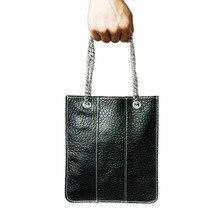 Klsyanyo Real Leather Mini Shopping Bags Women Shoulder Bag Handbags Casual Women Ladies Bolso Mujer Female Tote Bag Bolsas