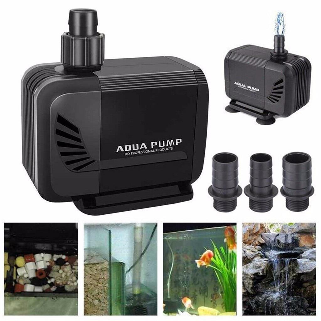 Aqua Pump Water Feature Fish Pond Aquarium Tank Waterfall Sump Outdoor Fountain