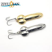 1 pz Fishing Lure Spoon Lure 5g 10g 15g 20g Oro Argento Metallo Esca per la pesca con Treble Hook Hard Bait Spinnerbait Attrezzatura da pesca