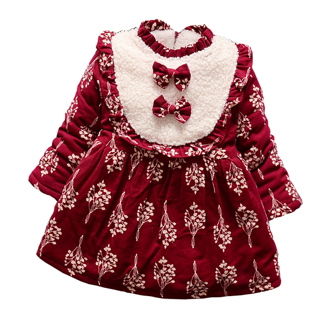 e43002530 BibiCola 2017 baby girls dress clothing autumn winter long sleeve ...
