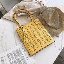 купить Tote Crossbody Bags For Women 2019 High Quality PU Leather Luxury Handbag Designer Ladies Hand Hollow Out Shoulder Messenger Bag по цене 885.03 рублей