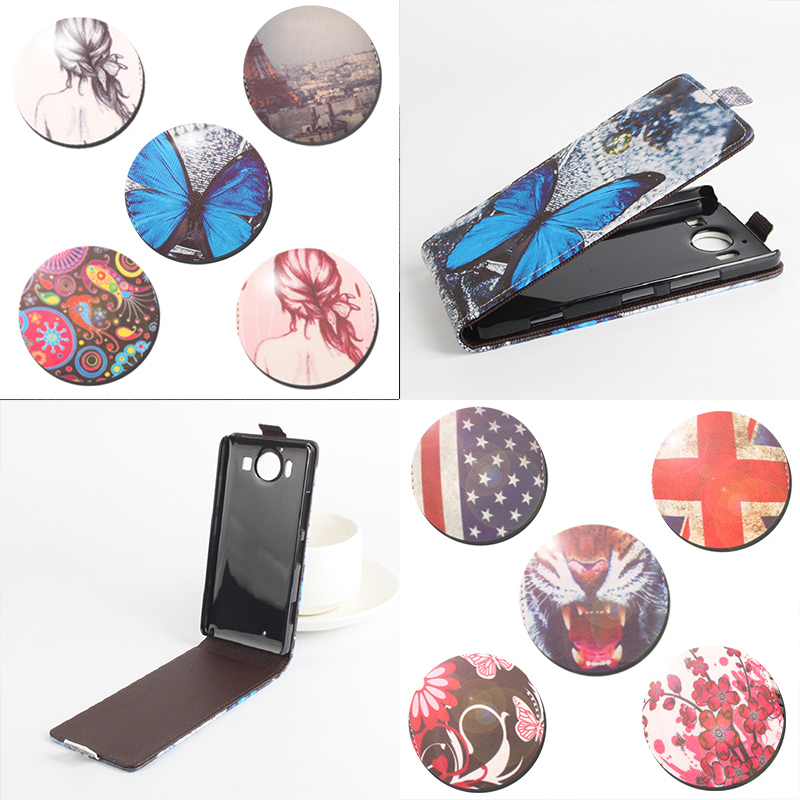 100% High Quality Wallet Leather Case For Nokia Mic