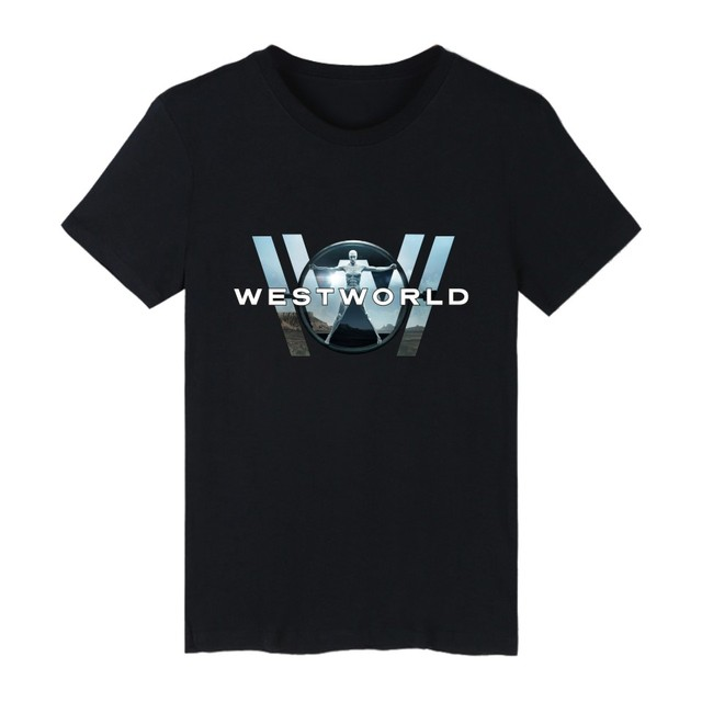 14347f3d45f WESTWORLD Short Sleeve Funny T Shirts Summer Black Fashion Tshirts Cotton Men  Popular American Drama Casual Tee Shirt Men 3XL