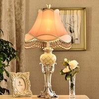 Свет стол классическая настольная лампа с E27 источник света для Спальня лампа Dest Украшения настольные лампы для Гостиная и дома