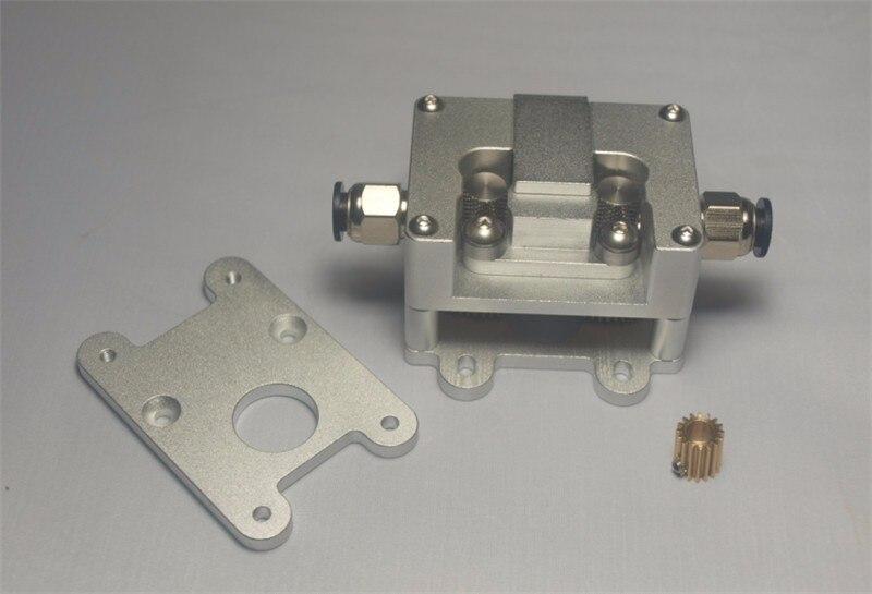 UM2+ Ultimaker2+ all metal bowden extruder Upgrade kit 1.75/3mm second version deceleration extruder Double Grip Extruder