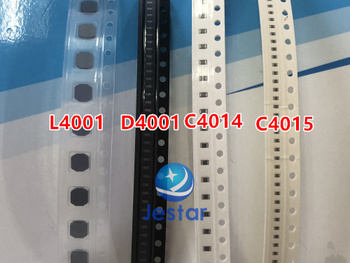 5 jogos/lote l4001 bobina + diodo d4001 capacitância c4014 c4015 lcd retroiluminação luz traseira boostindutor para ipad 6 ar 2