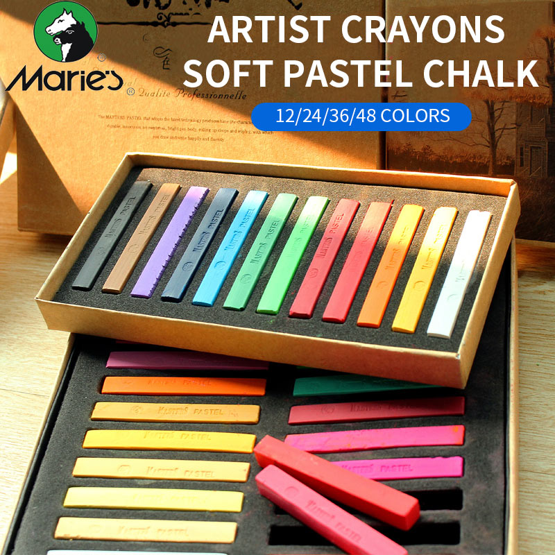 Soft Pastel Painting Chalk 1