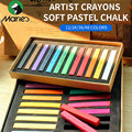 Marie's Painting Crayons Soft Pastel12/24/36/48 Colors/Set Art Drawing Set Chalk Color Crayon Brush Stationery for Students