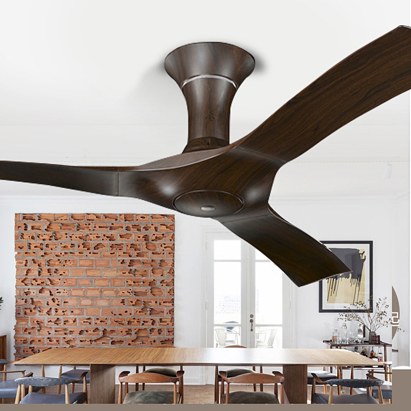 Us 237 06 8 Off Lukloy Nordic Ceiling Fan Modern American Minimalist Retro Living Room Dining Hotel Project Decoration In