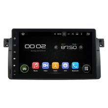 "9 ""Android 5.1 GPS Del Coche para BMW E46 M3 1998-2005 Vídeo Con reproductor de Radio Estéreo 3G WIFI Bluetooth USB DVR Espejo enlace"