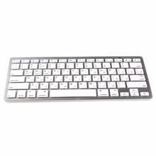 Kemile idioma russo sem fio, bluetooth 3.0, teclado para ipad, tablet, bluetooth, para ipad 3 4 ios, sistema apple, teclado