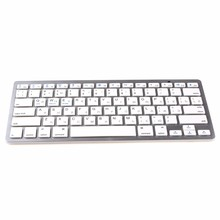 kemile Russian Language Wireless Bluetooth 3.0 keyboard for iPad tablet Bluetooth keyboard for iPad 3 4 IOS system Apple keypad цены