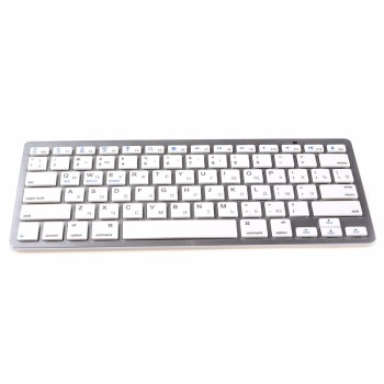 цена на kemile Russian Language Wireless Bluetooth 3.0 keyboard for iPad tablet Bluetooth keyboard for iPad 3 4 IOS system Apple keypad