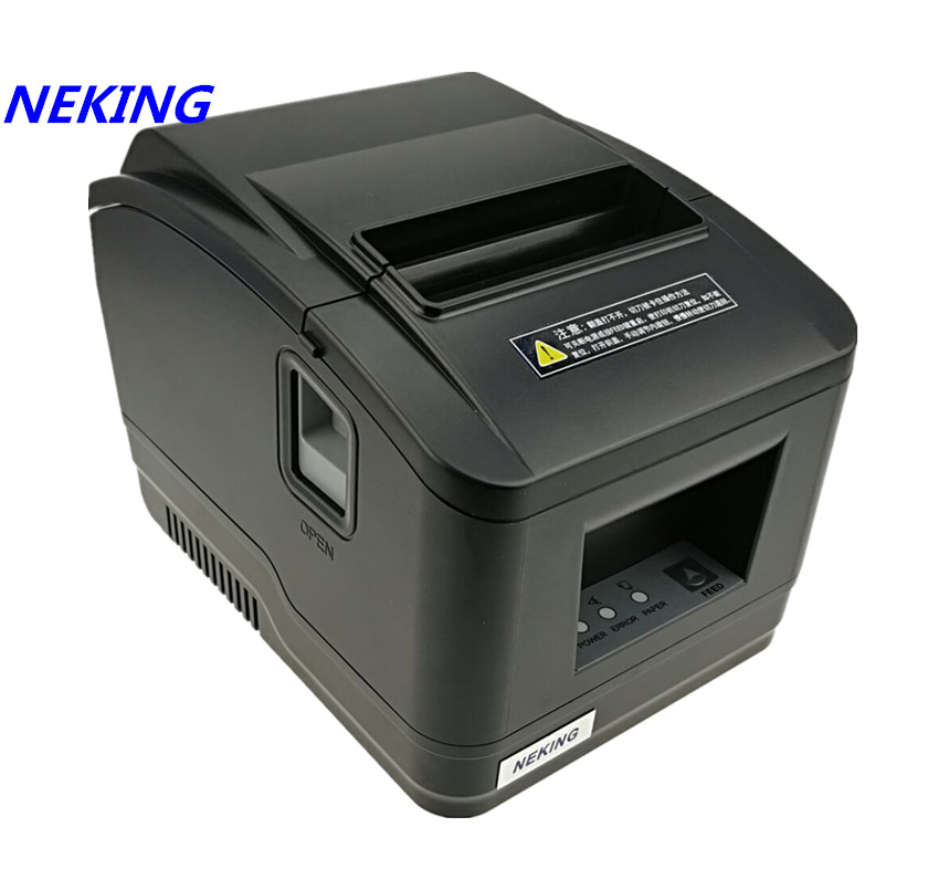 wholesale brand new High quality pos printer 80mm receipt Small ticket barcode printer automatic cutting machine printer wholesale brand new 80mm receipt pos printer high quality thermal bill printer automatic cutter usb network port print fast