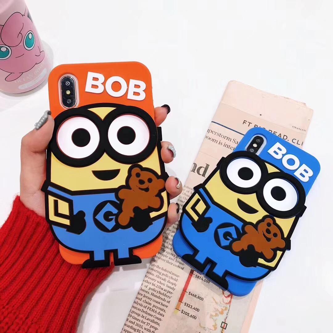 top 8 most popular minion iphone case covers soft silicon