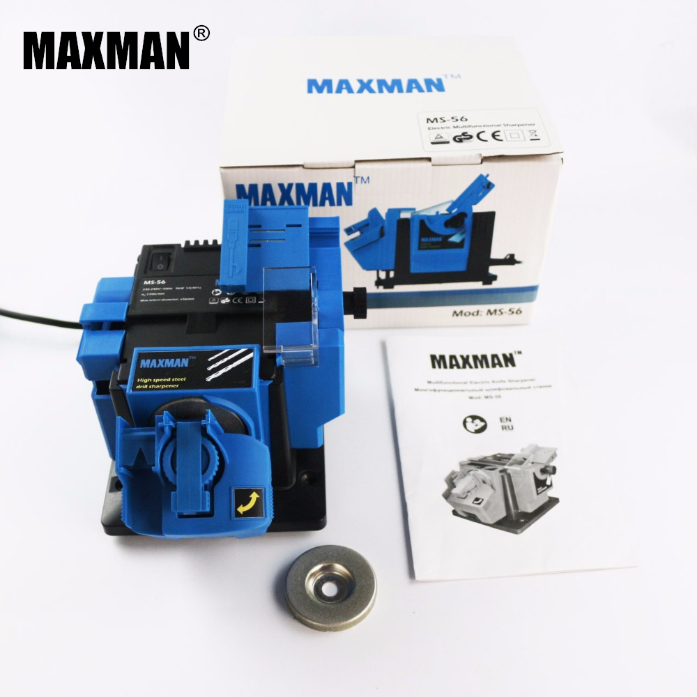 MAXMAN 96W Multifunction Sharpener Sharpening Machine Household Grinding Tool Sharpener Drill Professional Electric Knife