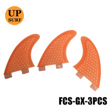 FCS Surf Boards Fins GX Orange Surfing Quilhas Surfboard