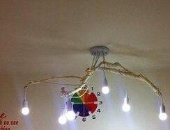Plafoniera In Legno Fai Da Te : In legno fai da te meditare sul ramo fork lift lampade di
