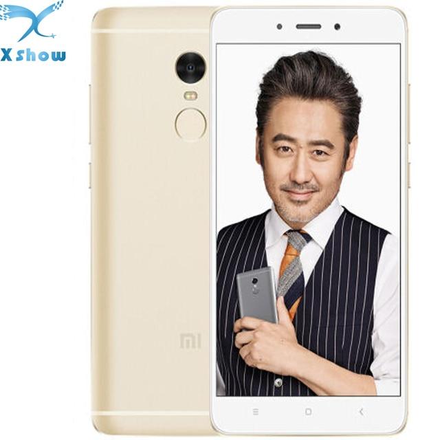 """Новый бренд Xiaomi Redmi Note 4 MTK helio X20 3 ГБ Оперативная память 32 ГБ Встроенная память Дека Core 5.5 """"1080 P Miui 8 отпечатков пальцев ID note4 4 г мобильного телефона"""