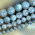 wholesale Natural Stone Beads Labradorite Round Loose Beads For Jewelry Making 15.5inch/strand Pick Size 6 8 10 12mm -F00120