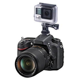 Image 5 - Smatree vis de trépied en aluminium pour GoPro hero 8 à DSLR caméra Flash adaptateur de fixation de chaussures chaudes pour GoPro hero Fusion, 6 5 4,3 +