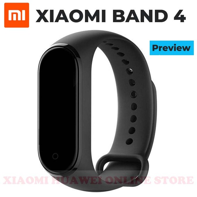 Preview Original 2019 Newest Xiaomi Mi Band 4 Smart Miband 4 Bracelet Heart Rate Fitness 135mAh Color Screen Bluetooth 5.0