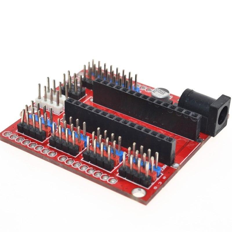 Free shipping! NANO and UNO multi-purpose expansion board for arduino nano 3.0