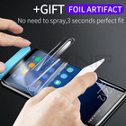 ZNP Full Cover Soft Hydrogel Film For Samsung Galaxy S9 Plus S8 Plus Screen Protector For Samsung Note 8 S9 S8 Plus Not Glass
