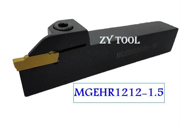 Free shipping MGEHRL1212-1.5 External Grooving Turning Lathe Bar Tool Holder For Lathe Machine CNC Cutting Turning Tool