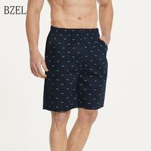 BZEL Men's Loose Sleepwear Short Pants Soft Beach Pants Men