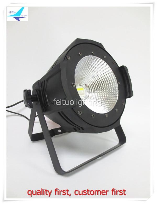 free shipping Led 200w COB Par Light Warm White or Cool White Stage Par Can Lighting Uplight Strobe Show Disco Party Par64 Lamp