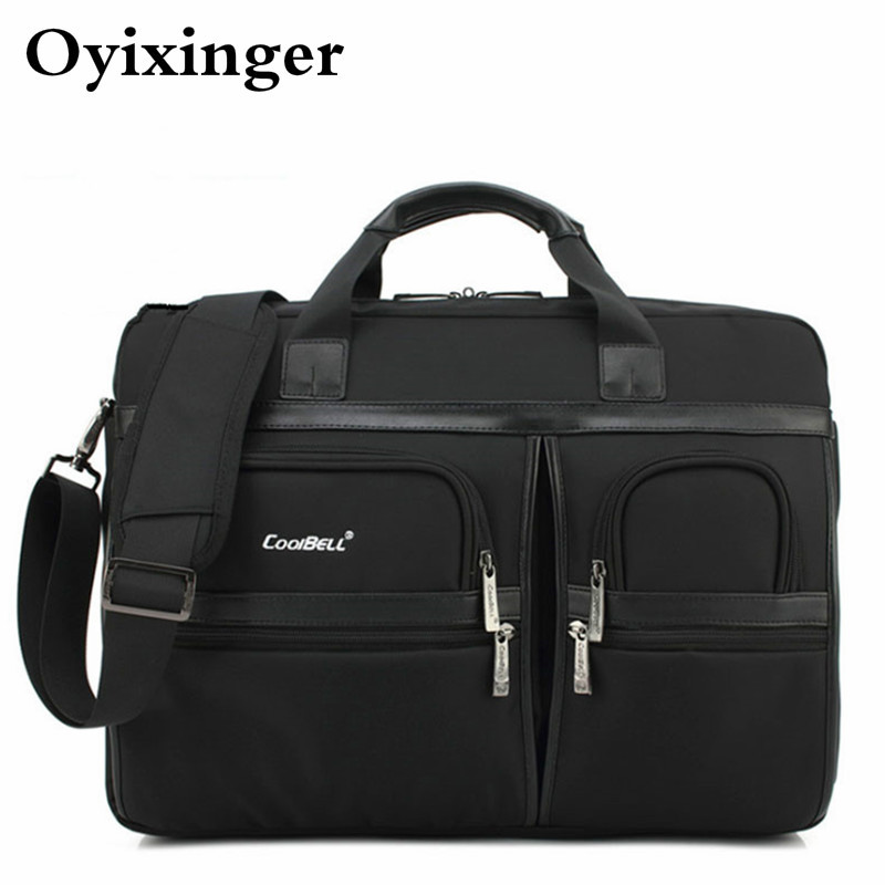 New Business Briefcases For Men Waterproof Laptop Shoulder Bags Male Travel Office Handbag Bag Bolso Hombre Briefcase Sac Homme