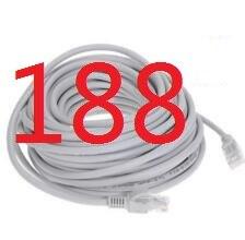 188 #2018 Câble Haute Vitesse 1000 m RJ45 CAT6 Ethernet Réseau Plat LAN Câble UTP Patch Routeur Câbles