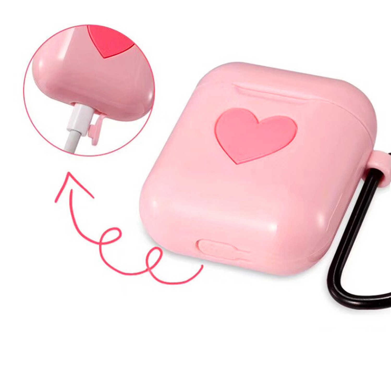Besegad ТПУ силиконовый милый защитный чехол для зарядки корпус коробка для Apple AirPods Bluetooth Беспроводные наушники
